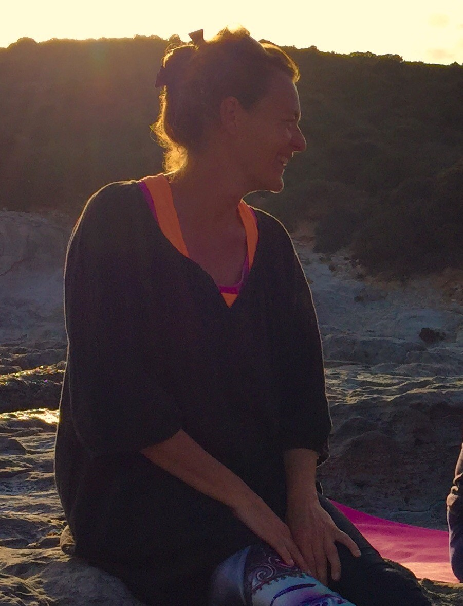Monique's blog op  Sardinie. yoga reis en mindfulness op sardinie