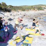 yogavakantie in een groep op sardinie