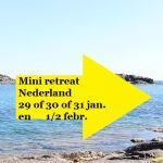 mini retreat in Nederland van Sunny mind travel